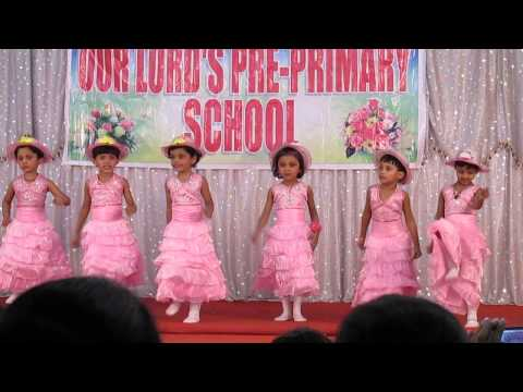 I Am A Barbie Girl Song By Our Lord's Pre Primary School,dombivali video