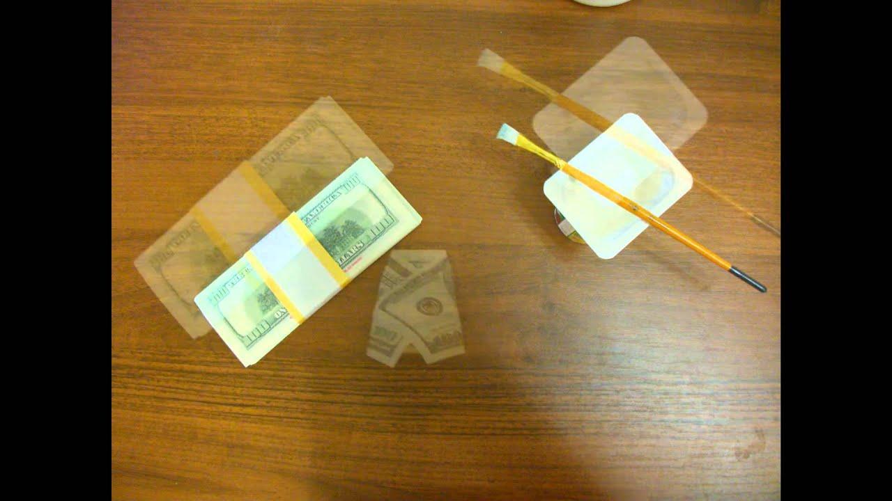 Как сделать из бумаги деньги настоящие своими руками