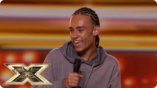 Teenager Blaise Duncan brings the house down! | Auditions Week 4 | The X Factor UK 2018