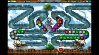 Juego StoneLoops! of Jurassica para iPhone y iPod Touch