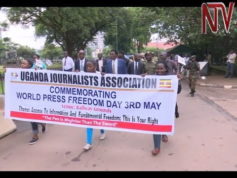 Journalists call for end to police brutality as Uganda commemorates World Press Freedom day