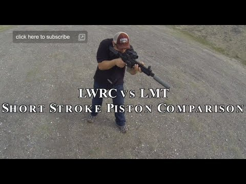 LWRC vs LMT AR15 Short Stroke Piston Gun Comparison Review