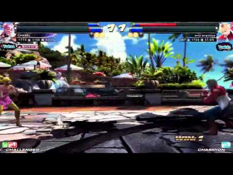 TEKKEN TAG2 UM 9/20 CHANEL VS ONLY PRACTICE