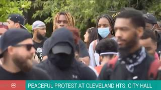WATCH | Peaceful Protest in Cleveland Heights