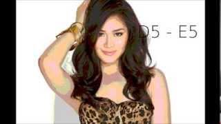 Sarah Geronimo (Expressions) Studio Vocal Range Eb3-G5