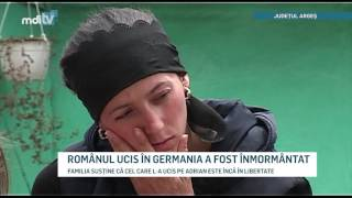 ROMANUL UCIS IN GERMANIA A FOST INMORMANTAT