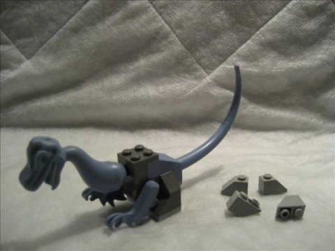 M4X's Creations - Building Lego Dinosaurs - Baby Iguanodon Video