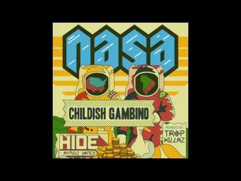 N.A.S.A. - Hide (feat. Childish Gambino & Aynzli Jones) [Tropkillaz Remix]