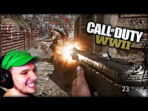 SCHROTFLINTE MIT FEUER-MUNITION ?? ... es ist so OP !! | Call of Duty: WWII Beta (Part 2)