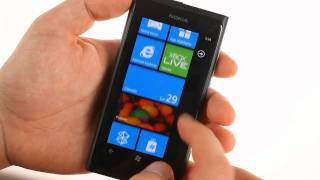 Nokia Lumia 800 user interface demo