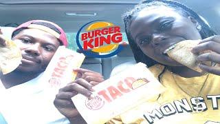 TRYING BURGER KINGS NEW TACOS !!!! |MUKBANG