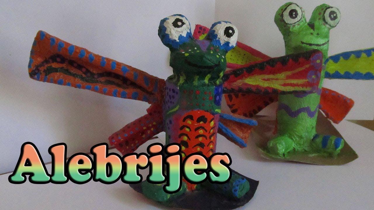 Manualidades para ni os alebrijes diy mexican crafts - Manualidades para ninos faciles ...