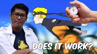 Does the Naruto Run Really Work?