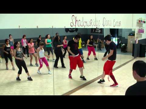Me Enamoré - Angel Y Khriz - Bachata Merengue Fitness Class W  Bradley - Crazy Sock Tv video