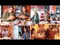 അടുക്കളയിൽ മക്കളും ഭർത്താവും ഒരുമിച്ചു പാർട്ടിക്കുള്ള പാചകം FAMILY COOKING VLOG THANKS GIVING PARTY
