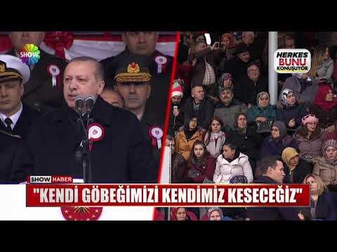 """Erdoğan: """"Kendi göbeğimizi kendimiz keseceğiz"""""""