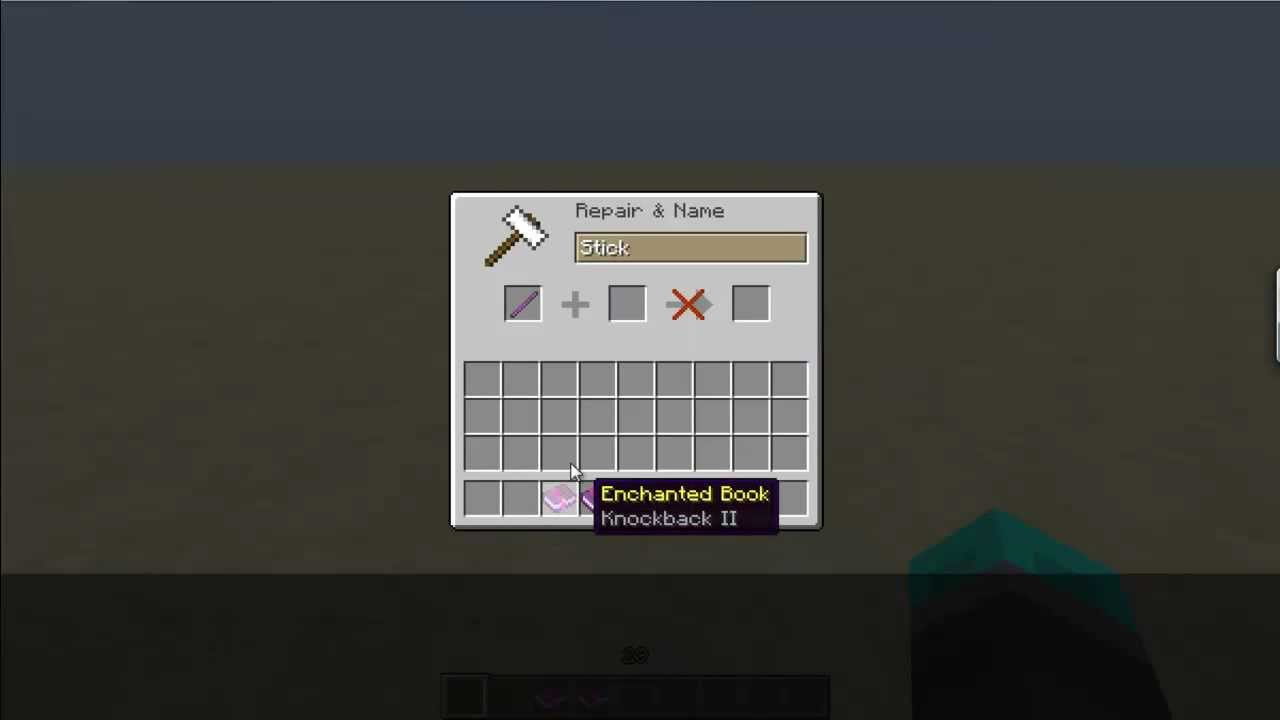 How to Make A Wand in Minecraft! - YouTube