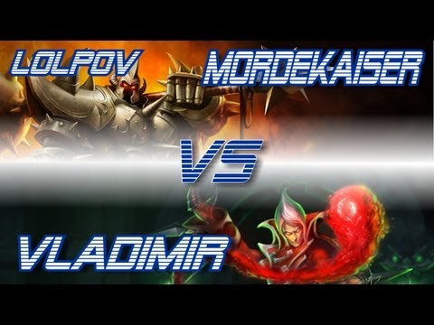 ► LoLPoV - Mordekaiser vs Vladimir [Mid] (League of Legends Live Commentary)