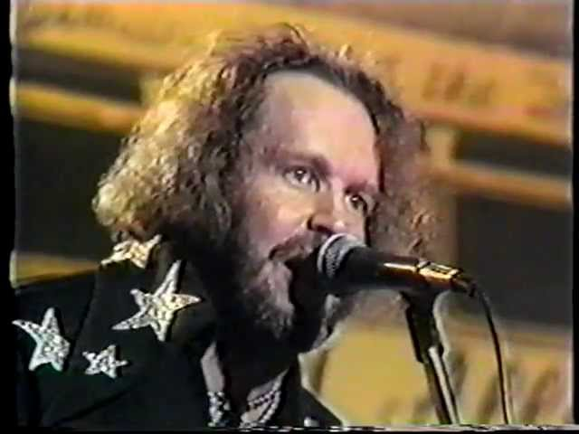 Long Haired Redneck - David Allan Coe, RARE 1975 Video Performance