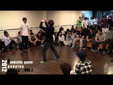 20120311 FUNKZILLA GAME POPPING BATTLE  VOL.1 Final - 冠亞季軍之戰