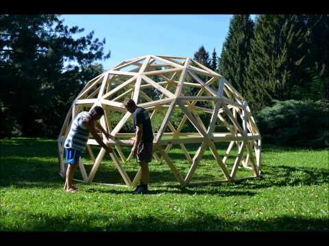 Test Geodesic Dome 3V