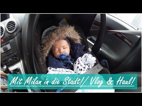 Shoppen mit Milan! || Vlog & Haul! || Reborn Baby Deutsch || Little Reborn Nursery