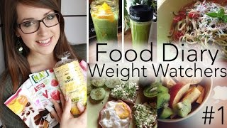 Food Diary #1 | Was ich beim Abnehmen esse (Weight Watchers)