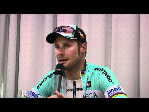 E3: Tom Boonen at press conference
