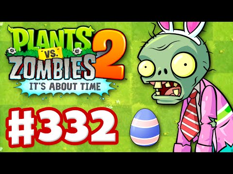 Plants vs. Zombies 2: Its About Time Gameplay Walkthrough Part 332 Easter Eggbreaker iOS