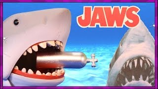 JAWS Shark Toy + BONUS Surprise Shark Eggs filled with Sharks, Toys + Sea Animals