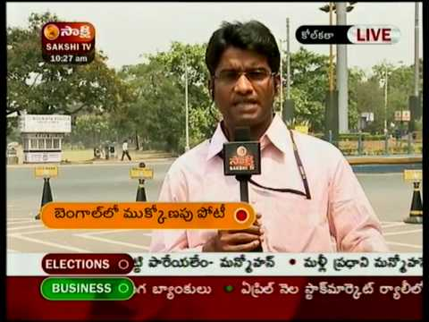 West Bengal Election Coverage - Sakshi TV