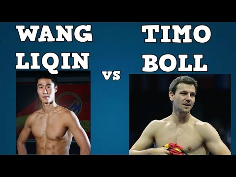 WANG LIQIN vs TIMO BOLL (2005 World cup/Quarterfinal/Table tennis best/Wang Liqin vs Timo Boll)