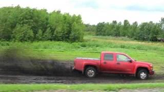 leave the asphalt for mud