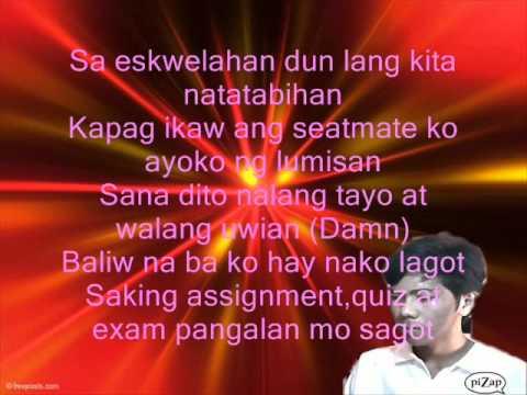 Classmate By Hambog Lyrics video