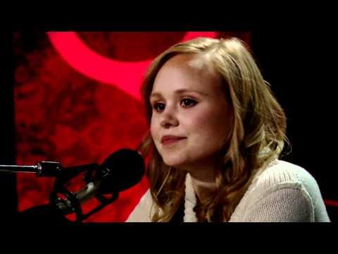 Goon sweethearts Jay Baruchel & Alison Pill in Studio Q