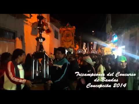 Tricampeones del concurso de bandas escolares 2014