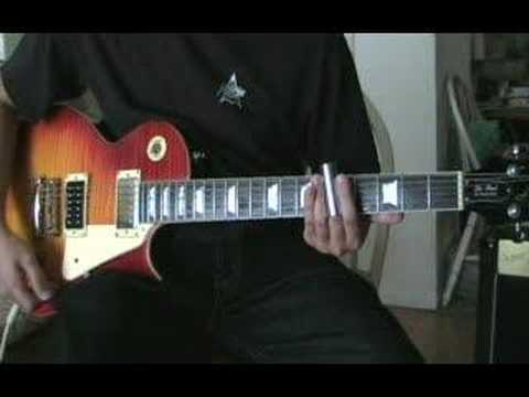 Tool's Aenema on guitar
