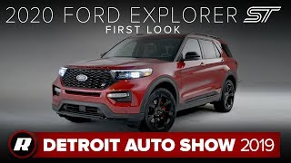 2020 Ford Explorer ST is a 400-horsepower performance family hauler | Detroit 2019