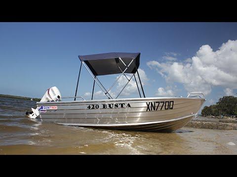 лодка quintrex 420 цена