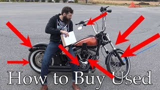 Tips on buying a Used motorcycle