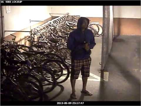 Bike Thiefs caught on camera! Waterloo, Canada