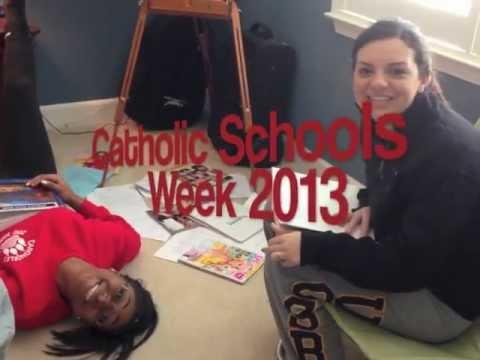 2013 Catholic Schools Week at Carondelet High School