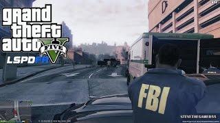 GTA 5 - LSPDFR - EPiSODE 51 - LET'S BE COPS - FBI PATROL (GTA 5 PC POLICE MODS) 2012 CHARGER