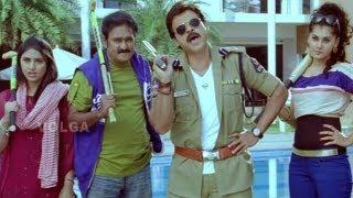 Shadow  Spoof Comedy ( Gabbar Singh ) - Venkatesh, Tapsee, MS Narayana, Srinivas - HD