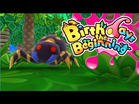 Birthdays The Beginning PC - Creating Spiders! - #3 Let's Play Birthdays Gameplay