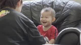 赤ちゃんの台湾帰省記⑧・台湾の離乳食が美味しくてご機嫌 生後11ヶ月 - baby vlog