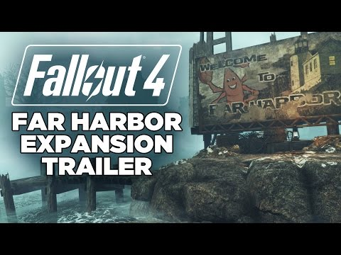 Fallout 4 - Far Harbor Expansion Trailer