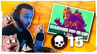 I LOVE THIS MODE! DESTROYING THE SCAVENGER POP-UP CUP (Fortnite BR Full Game)