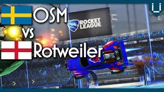 OSM (Rank 2 EU) vs Rotweiler (Rank 7 EU) | $288 Rocket League 1v1