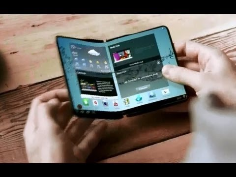 2014 Samsung Flexible OLED Phone and Tab Concept
